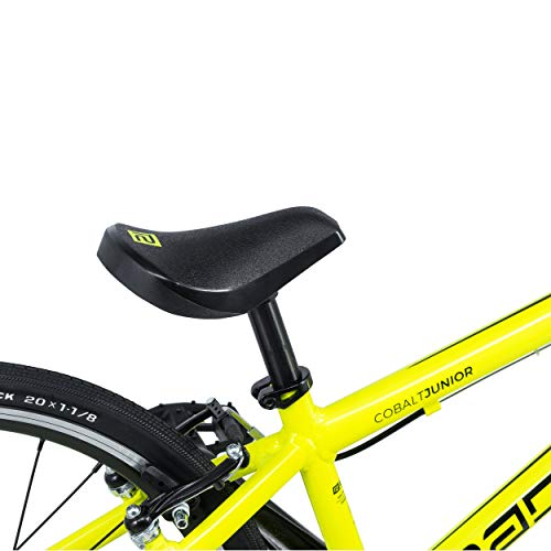 Radio Cobalt Junior 2019 Race BMX Fahrrad (18.5″ – Black/Neon Yellow) - 4