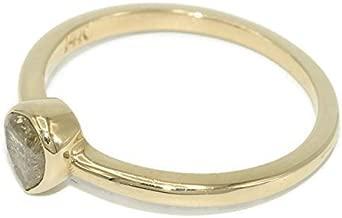 14k Yellow Gold Salt & Pepper Diamond ring, Natural Yellow diamond Engagement ring, Pear shape diamond ring, Engagement ring, diamond wedding ring