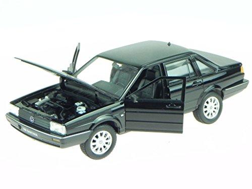 VW Passat B2 Santana schwarz Modellauto 24036 Welly 1:24