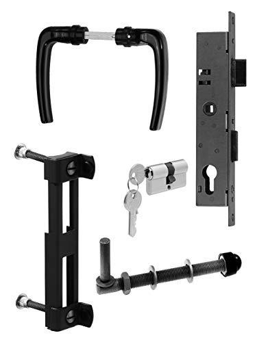 GAH-Alberts 653842 Ensemble d'accessoires pour portails à treillis à un fil