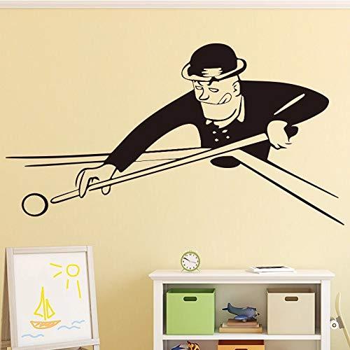 WERWN Kreative Billard Wandaufkleber Wanddekoration Wohnzimmer Schlafzimmer