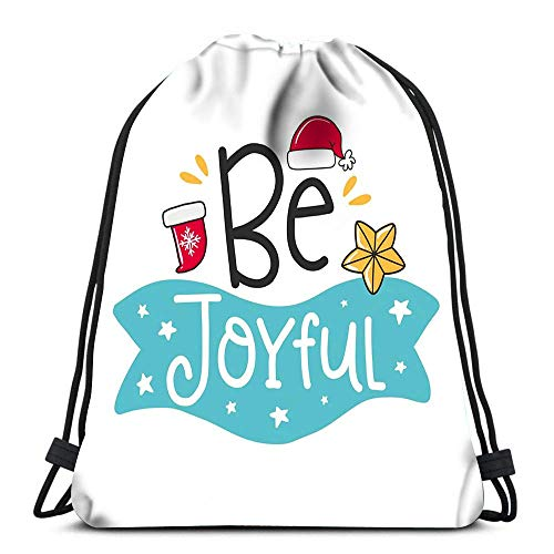 Lsjuee Backpack Drawstring Bag Abstract Nature with Plants Flowers Endless Fills Sports Travel Yoga Gymsack