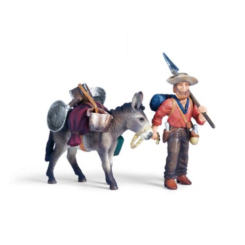 Schleich 70310 Goldsucher mit Packesel Wild West Wilder Westen Cowboy und Indianer NEU