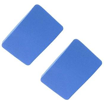 DGZZI Table Tennis Pat Cleaner 2PCS Ping Pong Paddle Edge Tape Rubber Care Sponge Racket Protective Film Brush Set
