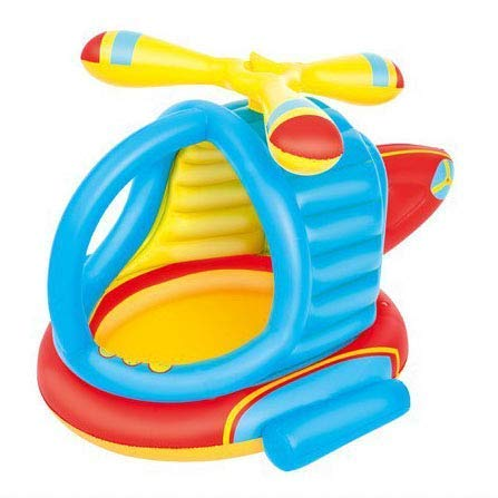 FGA Giocattoli per Bambini Giocattoli gonfiabili Elicottero Estivo Piscina Gonfiabile per Bambini , Piscina per Bambini Piscina per Palline Marine Piscina per la Pesca