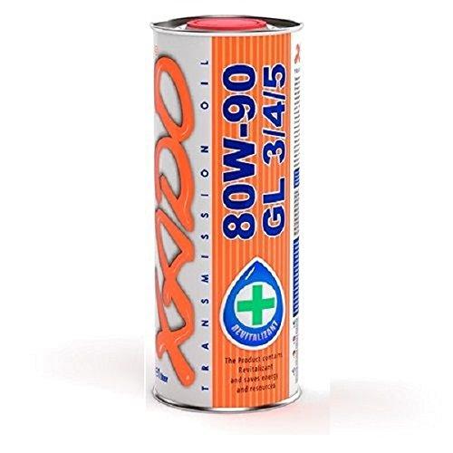 XADO 1 Liter Atomic Oil 80W-90 GL 3/4/5 Getriebeöl Schaltgetriebe Öl