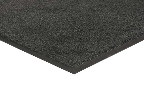 MatsMatsMats.com Plush Olefin Carpet Mat, 3' x 5', Smoke