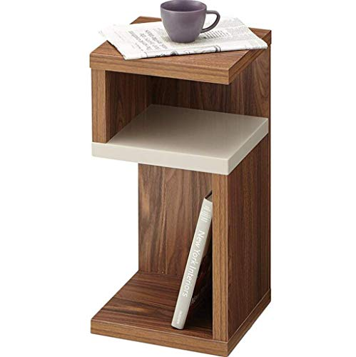 GUONING-L Mesa de Nordic Simple Mobile Sofá Mesita Mesita de luz Creativa Estante del Vino Moderno
