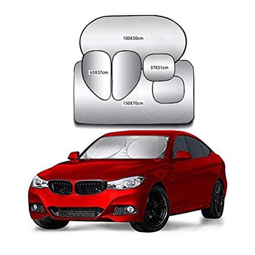Pare-soleil de voiture (paquet de 6) pour enfants/bébés, la fenêtre à stores bloque les rayons UV |Universal convient à la plupart des véhicules ~0530