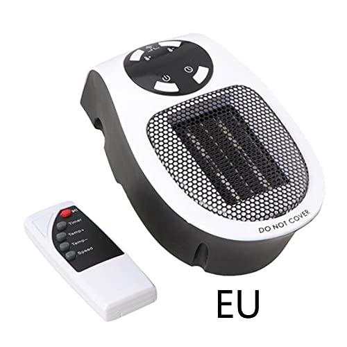 Ashley GAO Mini Calentador de Aire eléctrico con Salida de Pared, Potente Ventilador cálido, Calentador rápido, Ventilador, Estufa, radiador, Calentador de habitación
