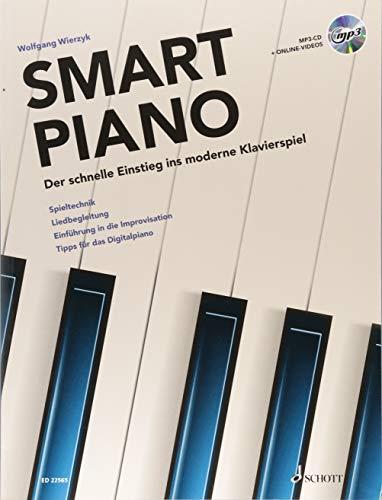 Smart Piano: Der schnelle Einstieg ins moderne Klavierspiel. Band 1. Klavier. Lehrbuch mit mp3-CD.