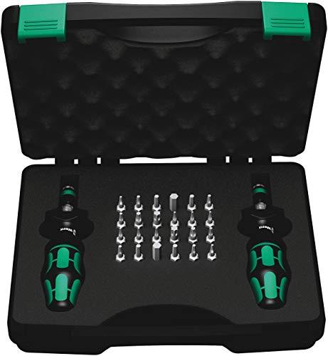 Wera - 5074738001 Kraftform 7440/41 Torque Screwdriver 0.3-3.0 Nm and Bit Set, 26-Piece