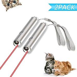 Xpassion Juguetes de Gatos, Gato Captura Juguetes de Entrenamiento Incluyendo Bateria(2 Unidades) 5