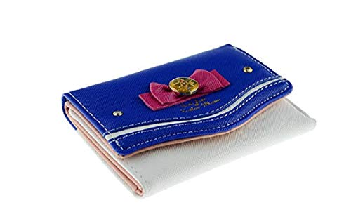 Sailor Moon 20th Style Anniversary Cute Anime Pu Leather Billfold Wallet Purse New ver. (blue)