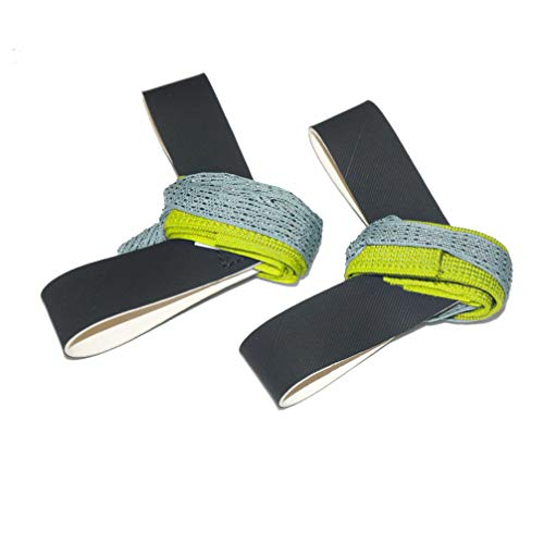 Adjustable One Size Fits All Anti Static 1M Ohm ESD Reusable Foot Heel Straps Premium Quality Perfect for Grounding, Removing Static, Protecting Electronics Against Electric Shock - Yellow - 2 Pieces