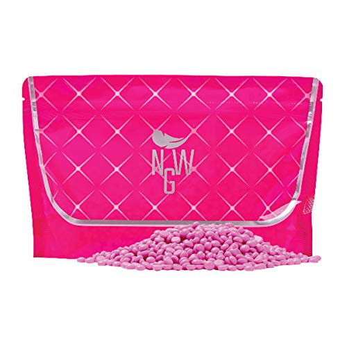 Pink Lady Wax - Next Generation Wax 300 g - Adecuado para pieles sensibles, depilación vegana sin tiras de vellón, depilación a partir de 1 mm de longitud de pelo, depilación facial