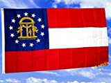 Fahne / Flagge USA Georgia NEU 90 x 150 cm Flaggen
