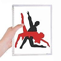 アート・デュエットダンス社交ダンス 硬質プラスチックルーズリーフノートノート