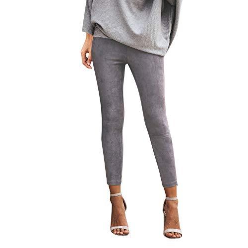 Manadlian-Pantalon Leggings Femme, Femme Taille Haute Legging de Sport Casual Pants