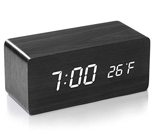 Despertador Digital Madera  marca ACSTEP