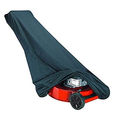 Classic Accessories 73117 Black Lawn Mower Cover