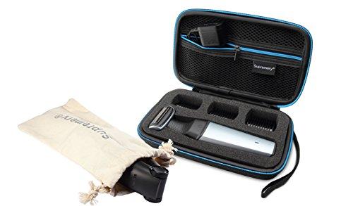 Supremery Tasche Kompatibel mit Philips Bodygroom Series 5000 BG5020/15 Series 3000 BG3015/15 Case Schutz-Hülle Etui Tragetasche