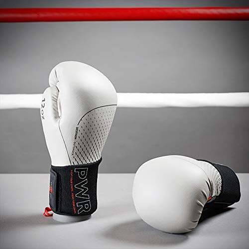 HOUJIA Guantes de Boxeo,Sparring Guantes Boxing Gloves for Training Punching Sparring Muay Thai Kickboxing Glove MMA Gloves Guantes para Hombres Mujeres,Artes Marciales,8 10 14 16 Oz,Unisex Adult