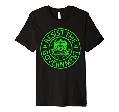 Truther Conspiracy Illuminati Confirmed - Protest Premium T-Shirt