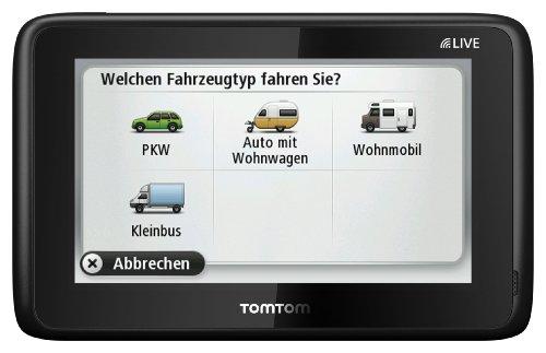 TomTom Go Live Camper & Caravan (13 cm / 5 Zoll Fluid Touch Display, Lifetime Maps, ADAC Camping- und Stellplatzführer, Sprachsteuerung)