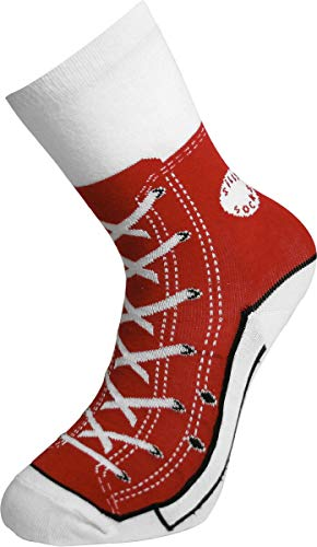 Bluw Silly Sock Baseball-Stiefel, Rot