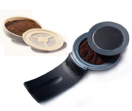 Coffeeduck and Ecopad Bundle For Senseo Classic – permanent hervulbaar koffiefilter voor de Senseo modellen HD7810-HD7819 – Creëer je eigen eigen maatstaf en sfeer, tuin, huis, tuin, gazon, onderhoud