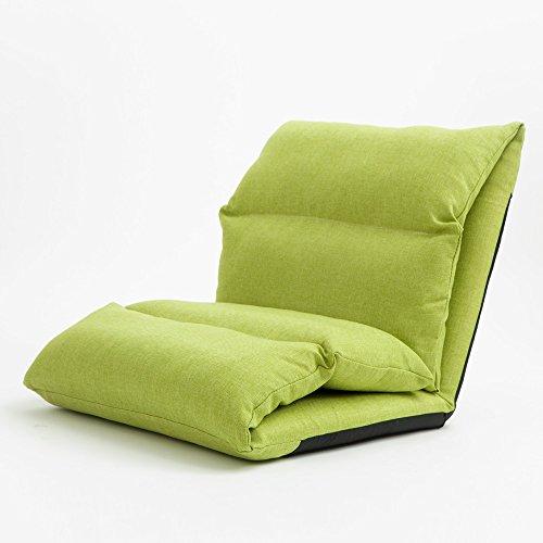 Fu Man Li Trading Company Canapé créatif crépusculaire Canapé-lit épais Canapé-lit simple Chaise sandwich A+ ( Couleur : Vert )