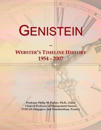 Genistein: Webster's Timeline History, 1954 - 2007