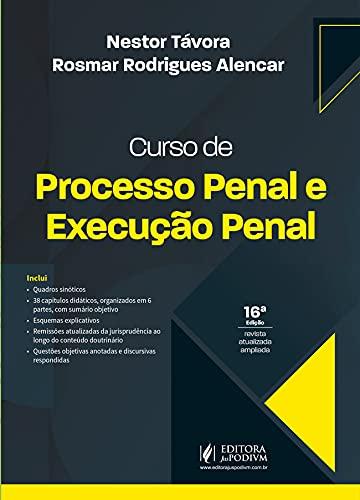 Curso de Processo Penal e Execução Penal