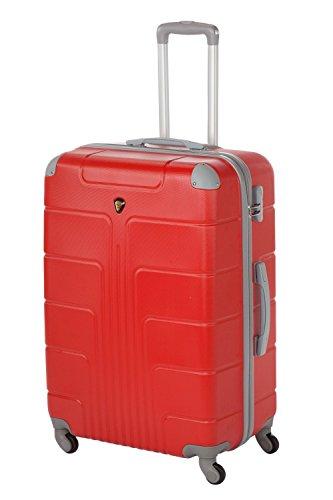 Hartschale Kofferset New York 2-teilig Gr. L+XL, 65+75cm, 68+110 Liter 7 (rot)