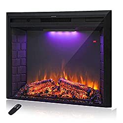 Best Electric Fireplace Inserts with Crackling Sounds