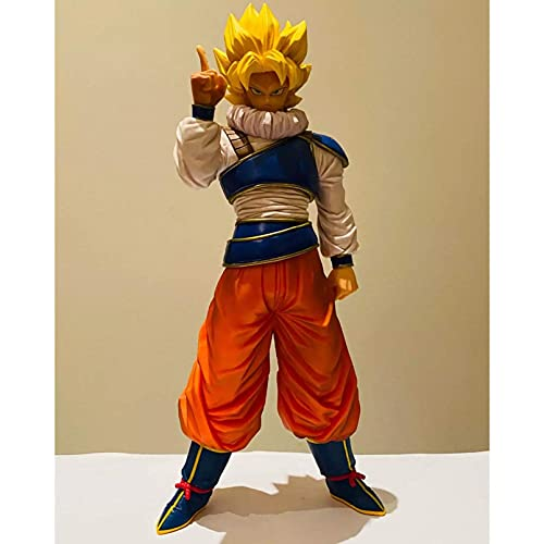 LINANNAN Anime Figure Toys, Super Son Goku Legends Goku SSJ Space Traje 270 mm PVC Figuras de acción Toy Goku Figurine Toys DBZ