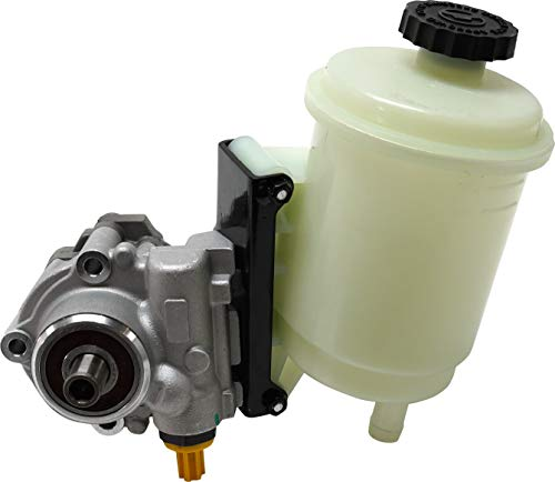 Power Steering Pump Compatible with 2008 Dodge Ram 1500 Ram Full Size P/U 03-10 Power Steering Pump New W/Reservoir