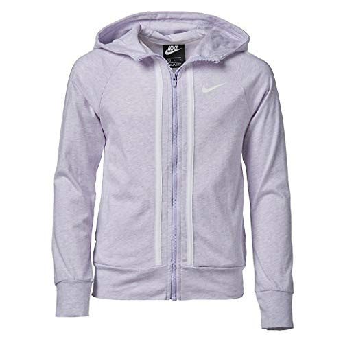 Nike Girls NSW Full Zip Jersey Hoodie Kids AQ9051-539 Size M