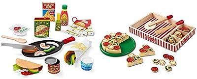 Melissa & Doug Taco & Tortilla Set & Pizza Party