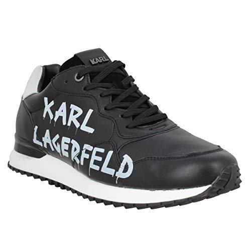 Karl Lagerfeld Velocitor II Hombre Zapatillas Negro 43 EU