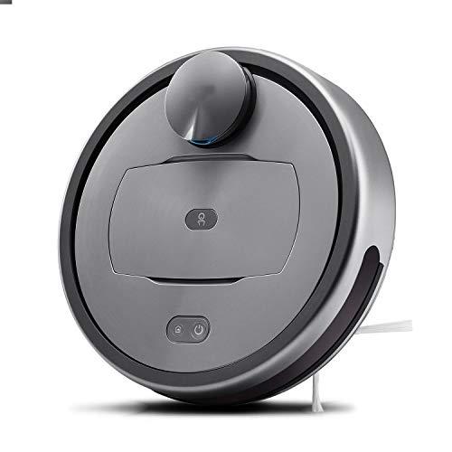 PUPPYOO R6Home Aspirador de Robot Inteligente, conectividad Wi-Fi, Funciona con Alexa, Bueno para Pisos Duros, Pelo de Mascotas, alfombras, autocarga