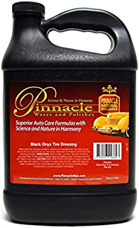 Pinnacle Natural Brilliance PIN-802 Black Onyx Tire Dressing, 128 fl. oz.