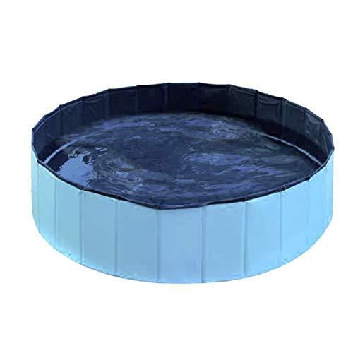 Freeday-uk 1 Pc PVC Pet Pool Piscina Plegable portátil para Mascotas Bañera...