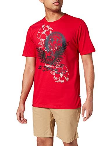 Trigema Herren 636252121 T-Shirt, Kirsch, XXXL