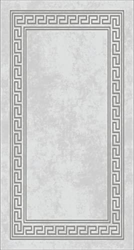 Homemania - Alfombra Impresa, 25% poliéster, 75% algodón, Multicolor