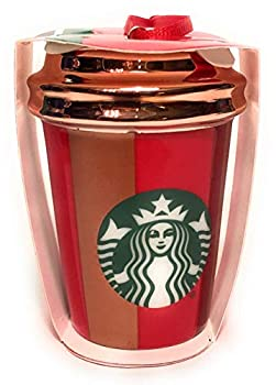 Starbucks 2018 Striped Red Cup Christmas Tree Ornament