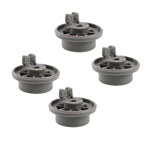 First4spares - Ruote a Clip per Carrello Inferiore di lavastoviglie Bosch, Neff eSiemens, Confezione da 4, di qualità