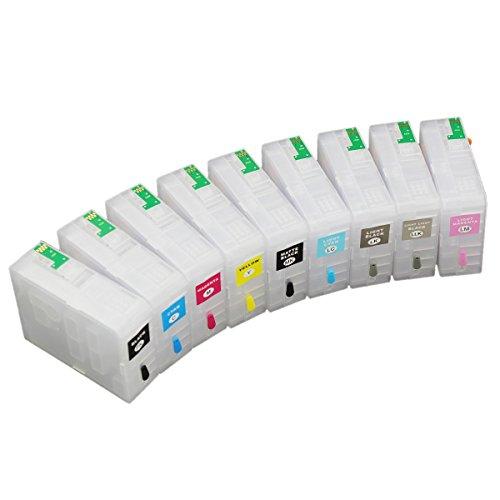uniprint cartucho de tinta recargable para Epson P800SureColor SC-P800vacío t8501t8502T8503T8504T8505T8506T8507T8508T8509