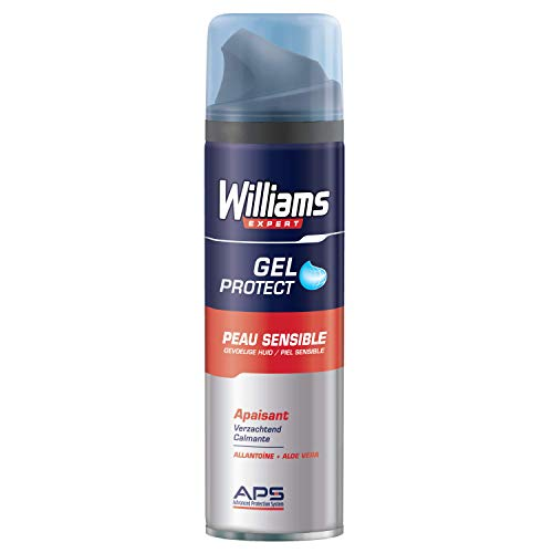 Williams Expert Gel Afeitar Piel Sensible - 200 ml